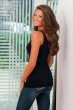 Women's Seamless Basic Tank Top - Back View