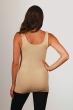 Womens seamless one size fits most qvc-basic tank-pebble